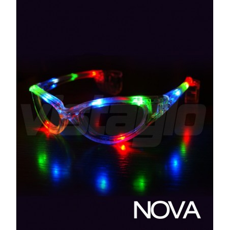 Pack of 12 Light up Eyeglasses LED Nova™