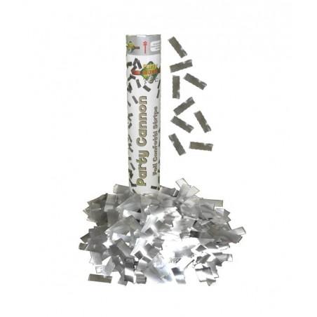 Canon à confettis ARGENT