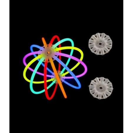 10 Attaches pour balles lumineuses fluorescentes Superbrite® Glow