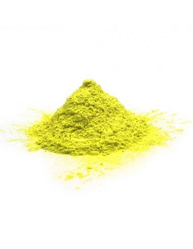 Poudre holi avec choix de la couleur - sachet 75 grammes - couleur fluo Jaune