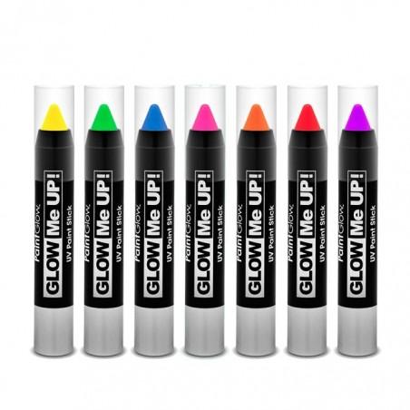 Crayon Maquillage Fluorescent (UV) pour corps et visage