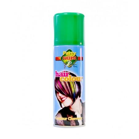 Spray Coloration Fluo pour Cheveux Vert