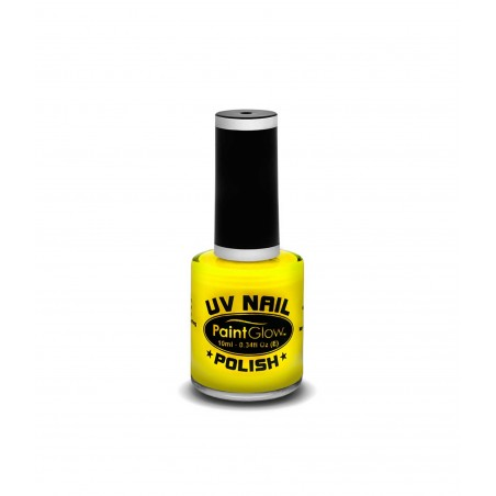 Glow UV Nail Polish - Yellow