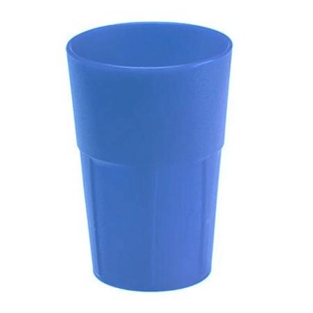 Verre cocktail Mojito Fluo UV INCASSABLE Bleu