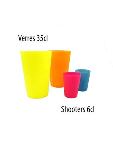 Shooter Mojito Fluo UV INCASSABLE