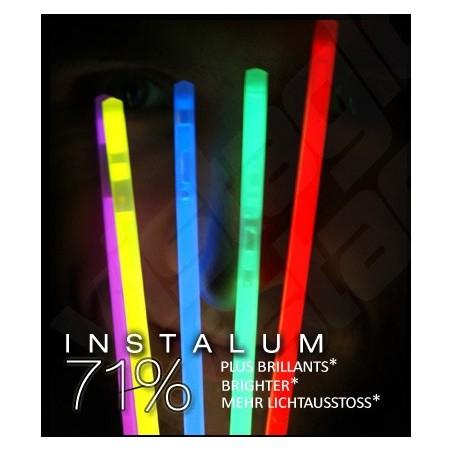 50 Bracelets Fluo Lumineux PREMIUM Superbrite ® - ASSORTIS