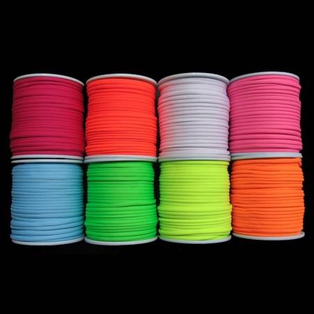 Fil Fluorescent 100 mètres Fluo UV - Décoration fluorescente