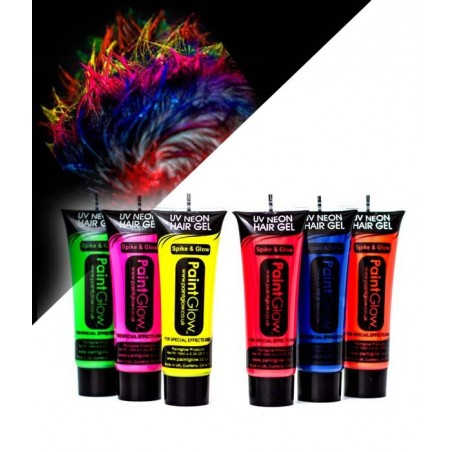 Gel Cheveux Fluorescent UV