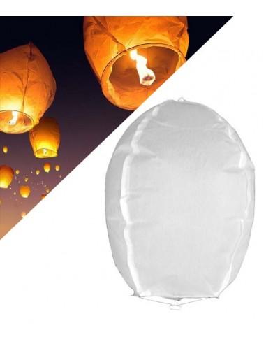Lanterne chinoise volante Blanche - 1...