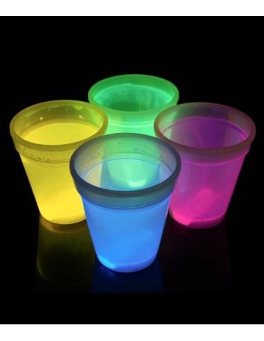 Verres Lumineux Fluorescent PowerGlass™ 35 cl - Cocktail Fluo - Décorez votre bar avec ces verres fluorescent à double paroi