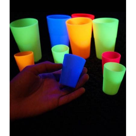 Verre cocktail Mojito Fluo UV INCASSABLE - Brille dans le noir