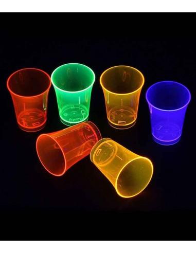 16 Shooters Fluo UV assortis 5cl -...
