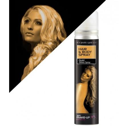 Spray de maquillage UV Doré
