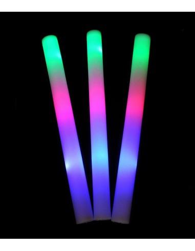 baton lumineux en mousse avec 3 modes de lumière