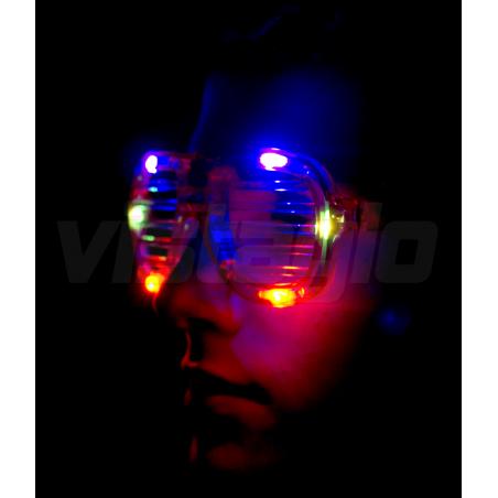 Lunettes de soirée Lumineuses HipHop™ - Multi RGB