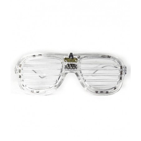 Lunettes Lumineuses HipHop™ - Multi RGB - Clear