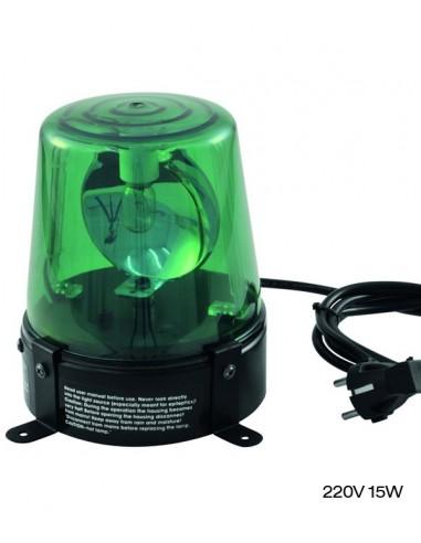Gyrophare Vert DE-1 15W