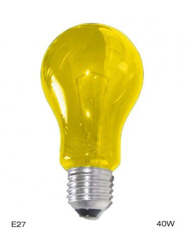 Ampoule jaune E27 40W A19