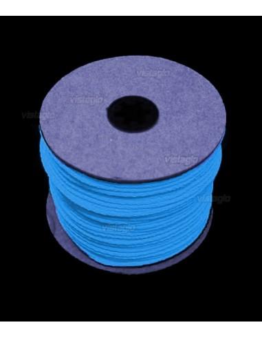 Fil Fluorescent 100 mètres Bleu Fluo UV