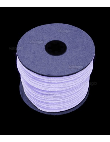 Fil Fluorescent 100 mètres Blanc Fluo UV
