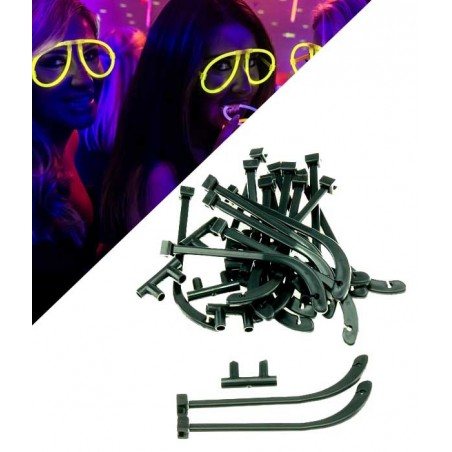 10 Kits pour Lunettes Lumineuses Fluo Aviator Superbrite®