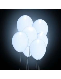 5 Ballons Lumineux LED -...