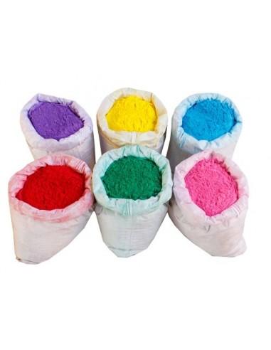 Sac de poudre colorée Holi  - 5 kilos