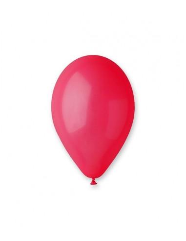 100 Ballons Latex  diam. 30cm ROUGE...