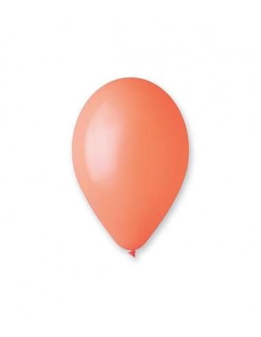 100 Ballons Latex  diam. 30cm ORANGE