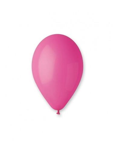 100 Ballons Latex  diam. 30cm ROSE...