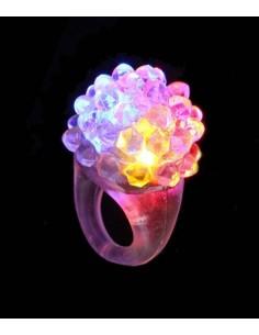 Bague Lumineuse LED LumiBague™ - Clignote et scintille de mille feux avec ses LED multicolore
