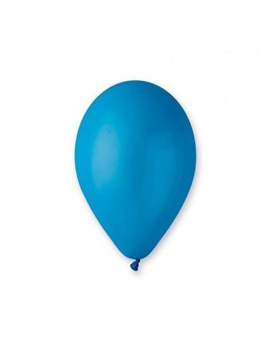 100 Ballons Latex  diam. 30cm BLEU