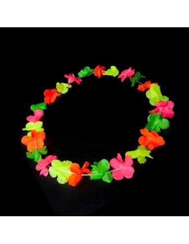 Colliers à Fleurs Hawaïennes -...
