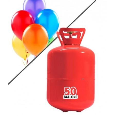 Bouteille d'Hélium jusqu'à 50 ballons (0,4m3)