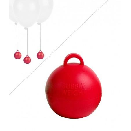 Poids Ballon Helium Bubble - 35g - Rouge