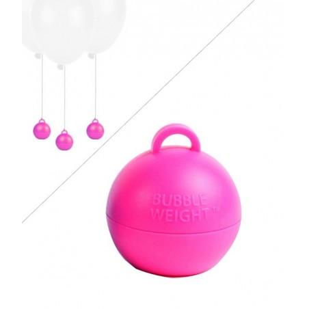 Poids Ballon Helium Bubble - 35g - Rose