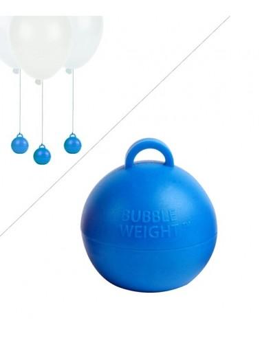 Poids Ballon Helium Bubble - 35g - Bleu