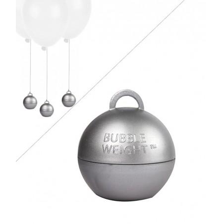Poids Ballon Helium Bubble - 35g - Argent