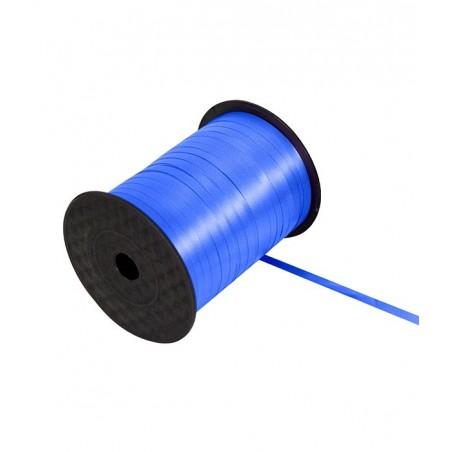 Ruban bolduc 5mm x 500 mètres Bleu pour papier cadeaux ou attacher des ballons