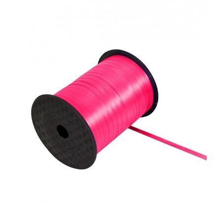 Ruban bolduc 5mm x 500 mètres Rose pour papier cadeaux ou attacher des ballons