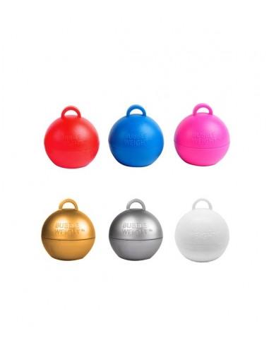Poids Ballon Helium Bubble - 35g - Choix de plusieurs couleurs