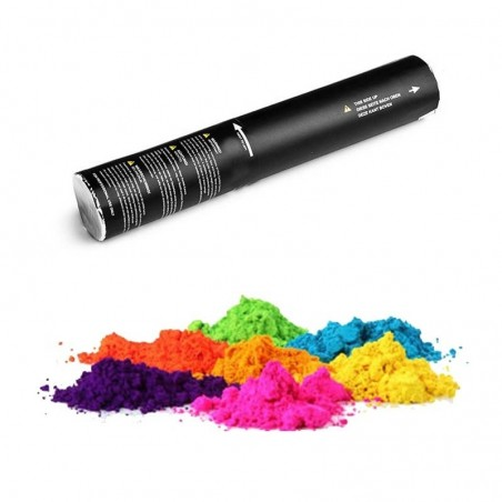 Canon à poudre colorée Holi avec air comprimée - projection 200 grammes de poudre décorative coloré dans l'air - color run
