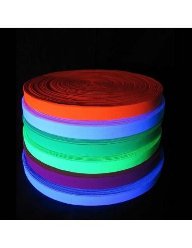Bande Fluo UV Réactive 25m