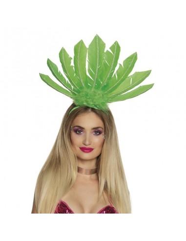 Serre-tête Samba - Vert Fluo