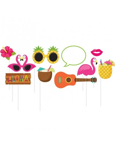 Accessoires Photo Booth Hawai Party
