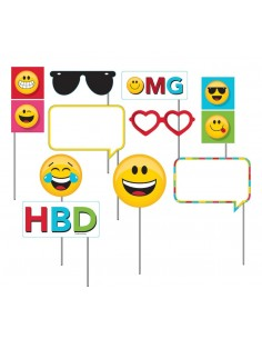Accessoires Photo Booth Emojis