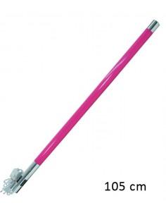 Tube néon 105cm Rose 20W - tube fluorescent rose décoration lumineuse - cable et interrupteur