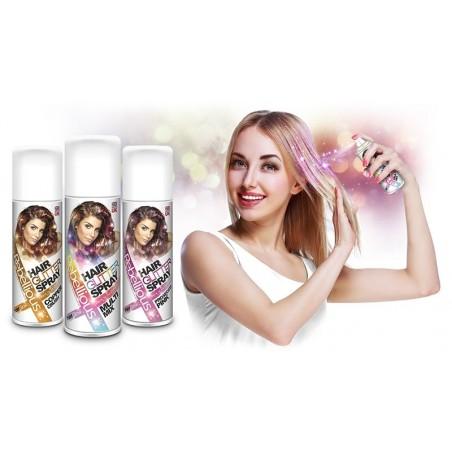 Spray de paillettes pour cheveux 125ml - glamour glitter
