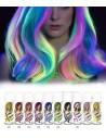 Coloration Fluorescente pour Cheveux en Spray
