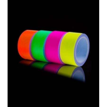 Ruban Adhésif fluorescent UV Gaffa 5cm x 25m
